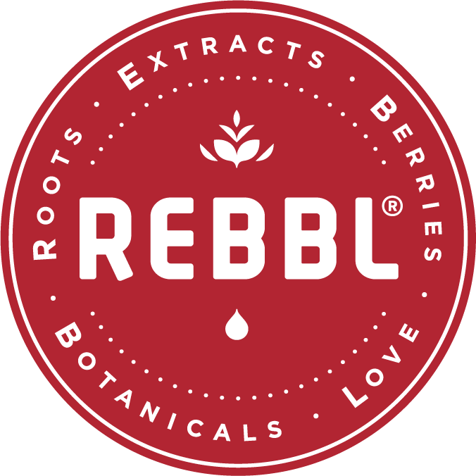 REBBL: roots, extracts, berries, botanicals, love